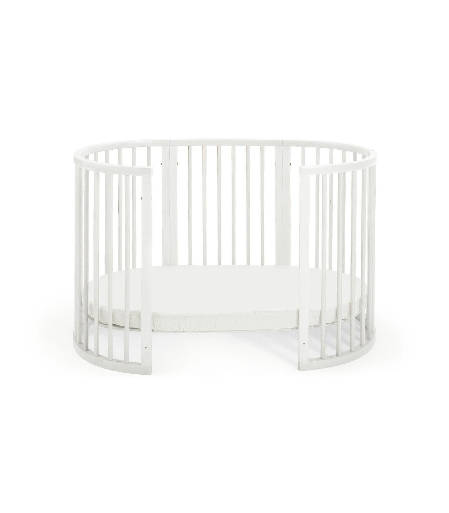 Toddler Bed, White