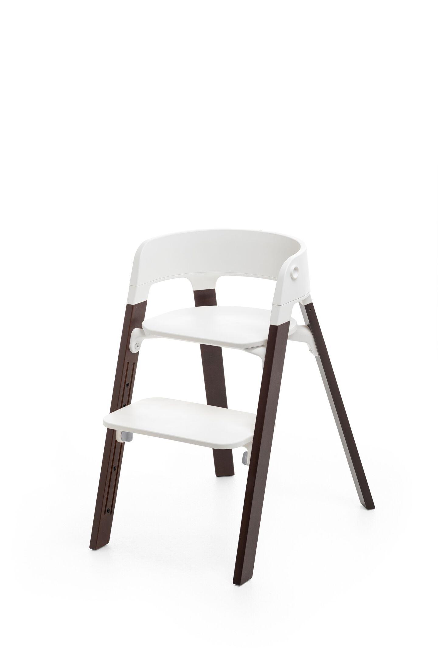Stokke Steps Chair Walnut Brown