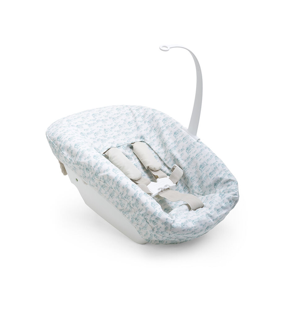 Tripp Trapp® Newborn Set with Aqua Cover.