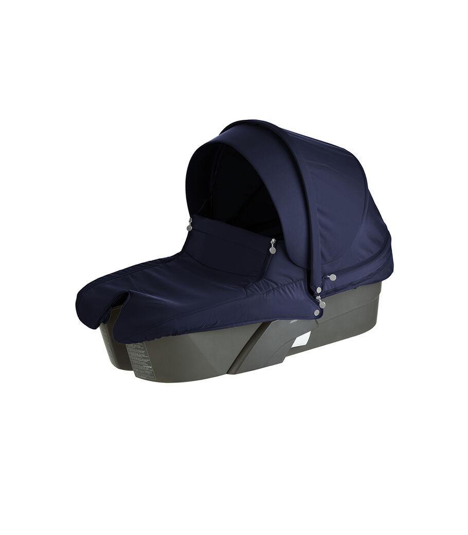 Stokke® Xplory® Carry Cot, Deep Blue.