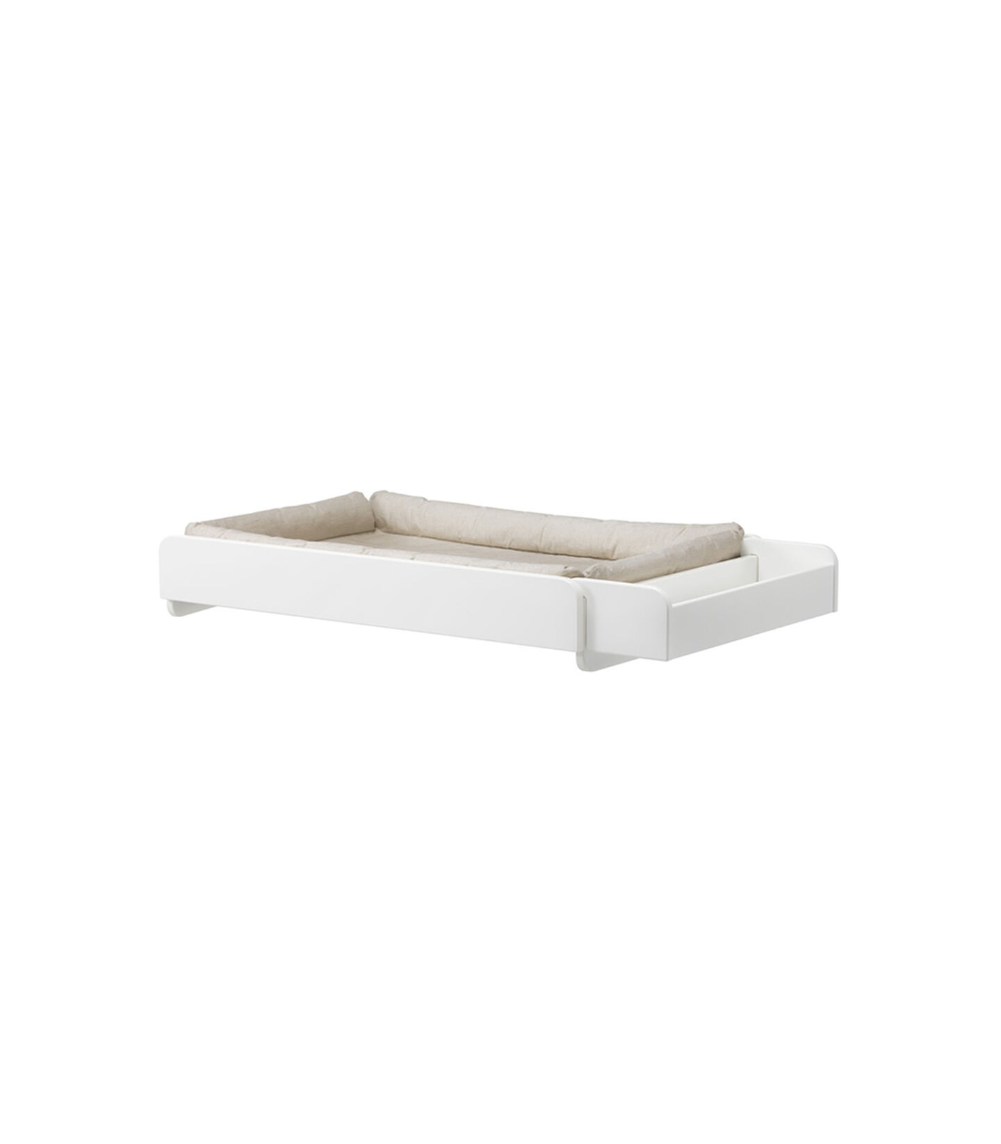Stokke® Home Changer. White, with mattress.