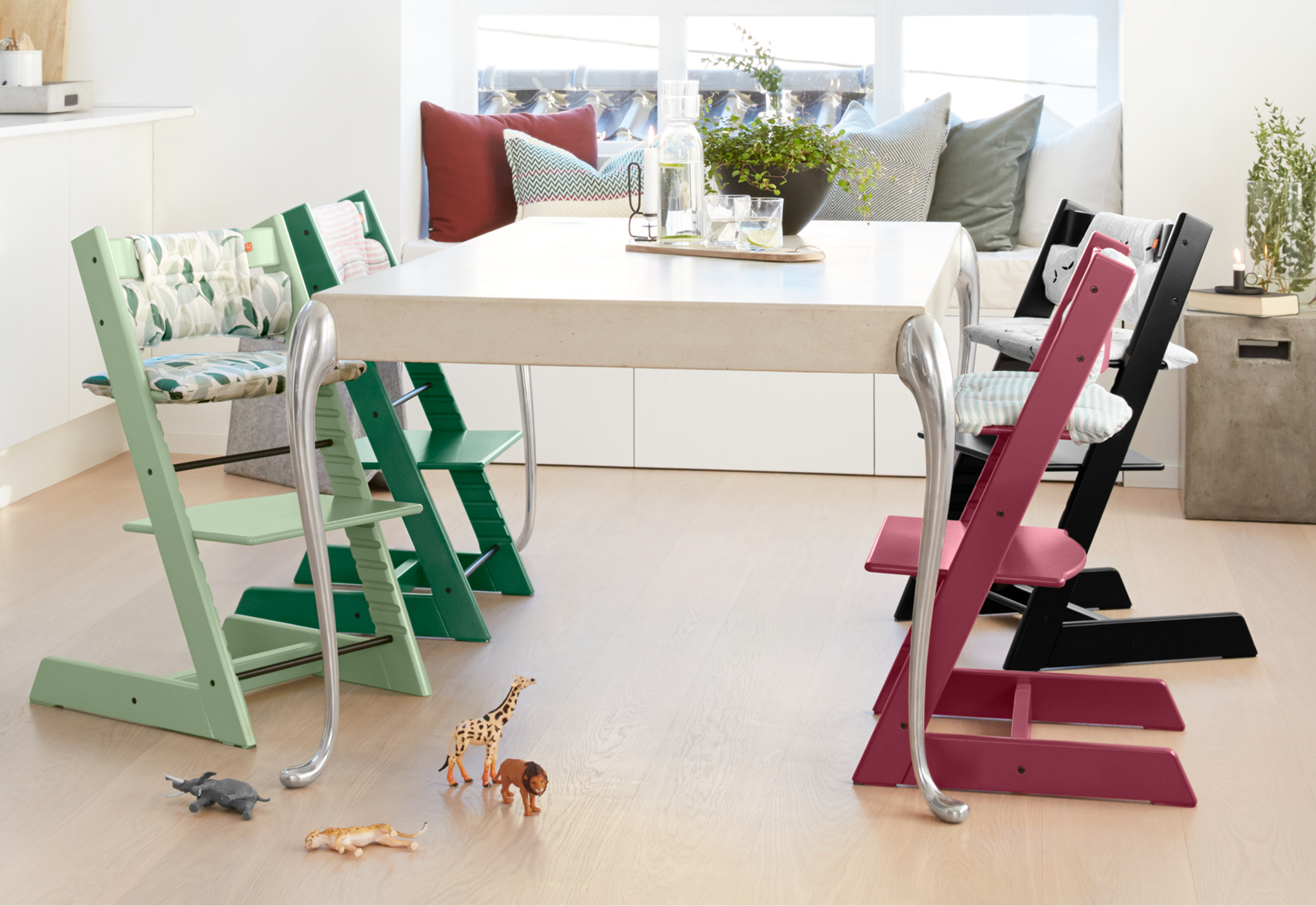Introducing naturally beautiful new colors for Offerte stokke tripp trapp seggiolone