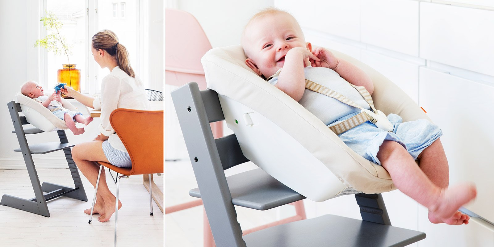 tripp trapp der stuhl der mit ihrem kind mitw chst jetzt erh ltlich in einem schicken storm grey. Black Bedroom Furniture Sets. Home Design Ideas