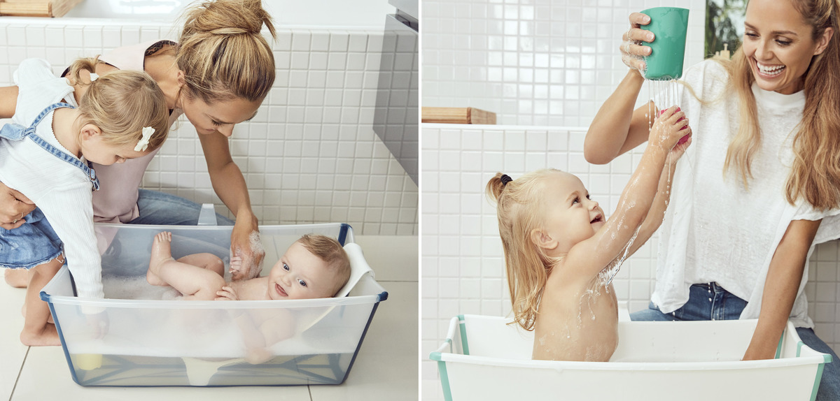 Flexi Bath - For travel or small spaces. Great for play too