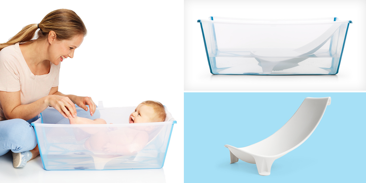 stokke flexi bath bundle tub with support white. Black Bedroom Furniture Sets. Home Design Ideas