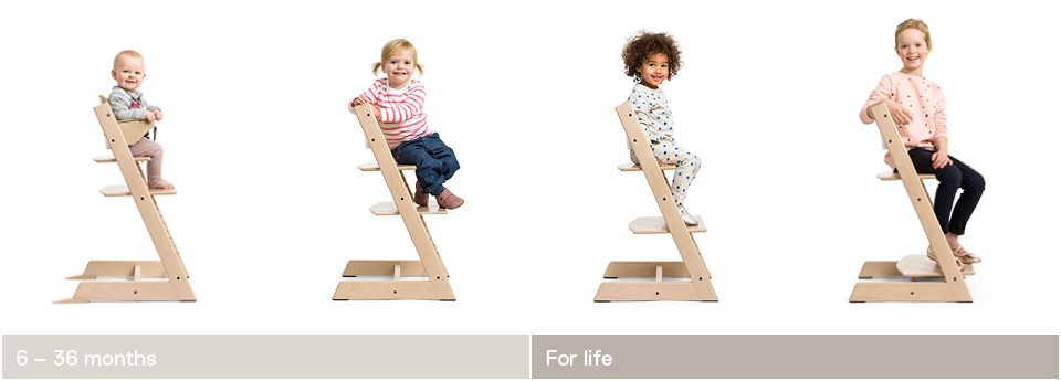 The Original Tripp Trapp 174 High Chair For Babies From Stokke