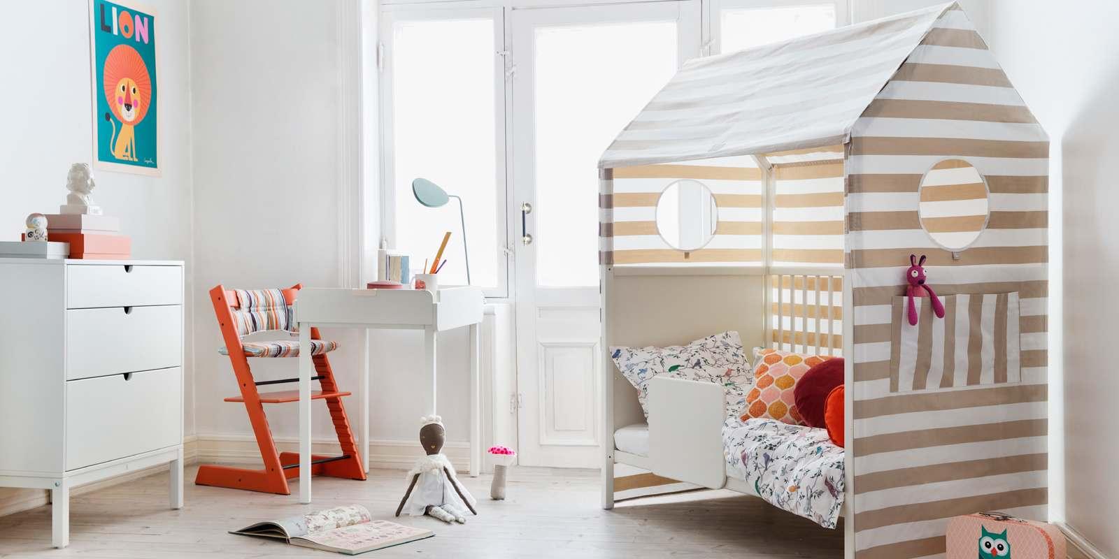 Stokke home crib white - Bed kamer ...