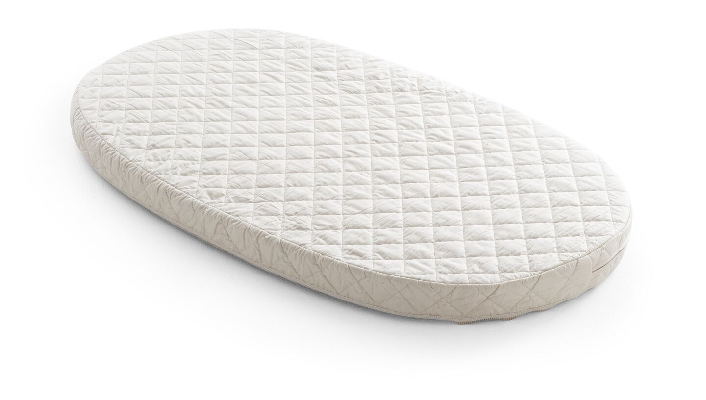 Stokke® Sleepi™ Bed Mattress with mattress cover.