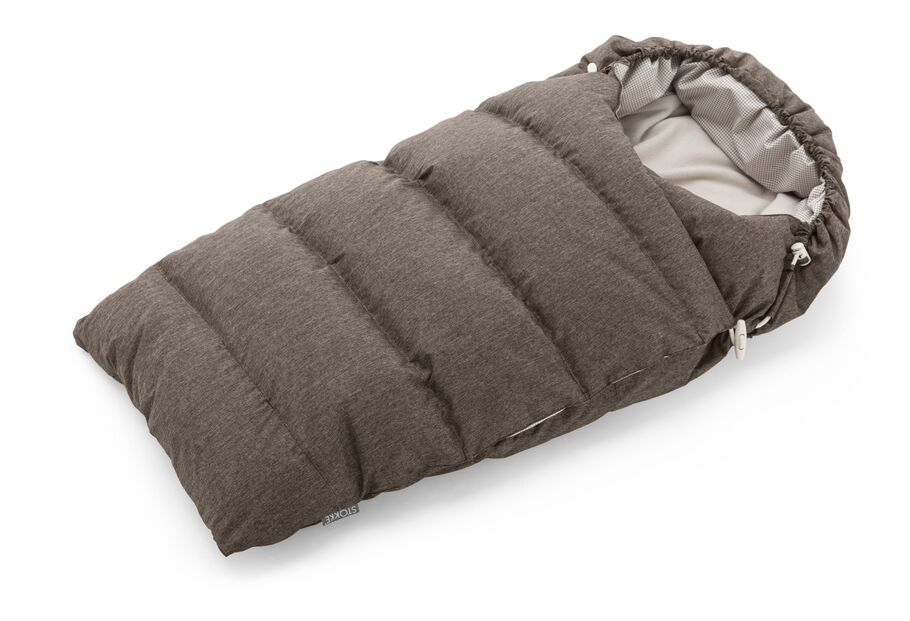 Stokke® Down Sleepingbag, Nougat Melange.