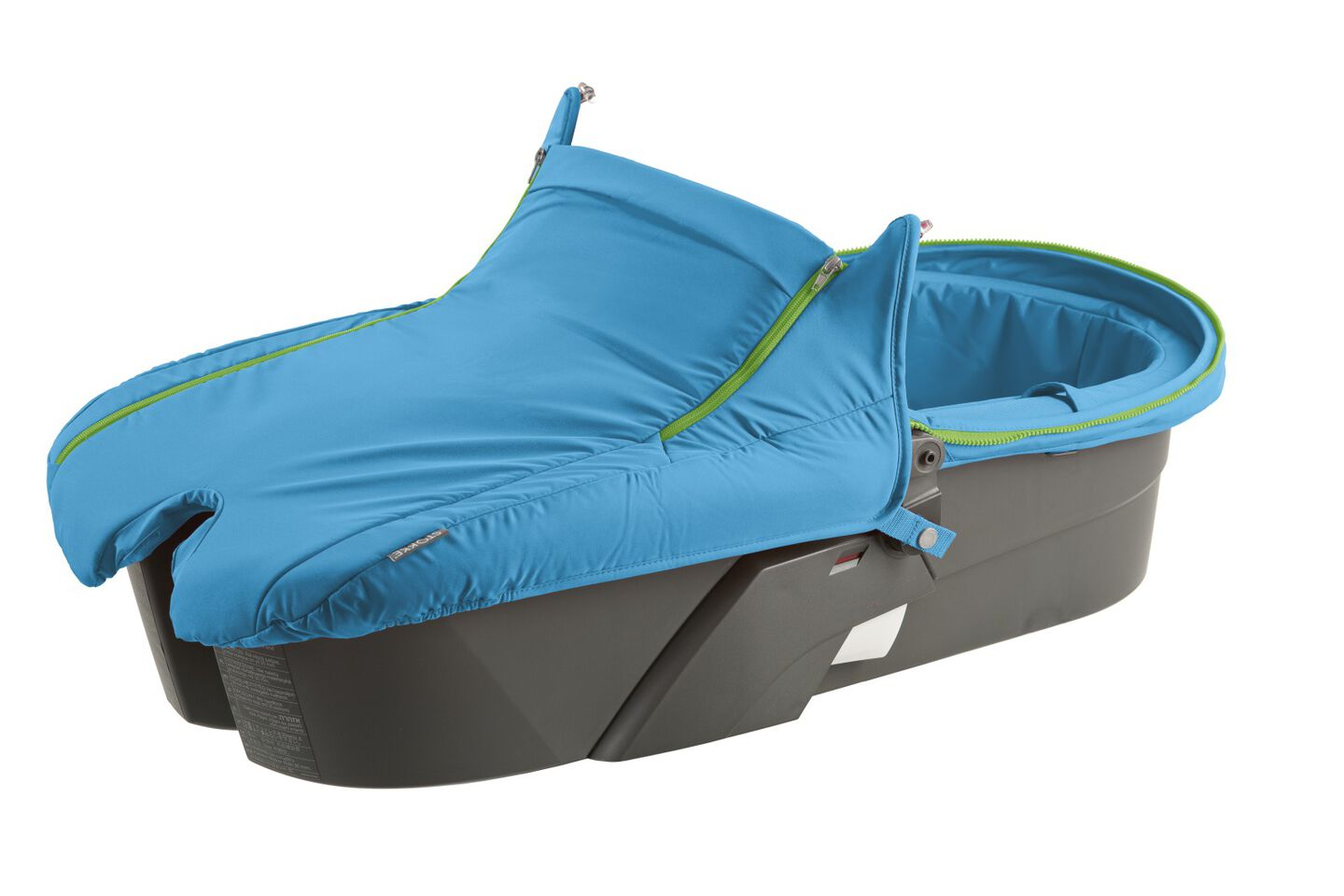Carry Cot without Hood, Urban Blue.