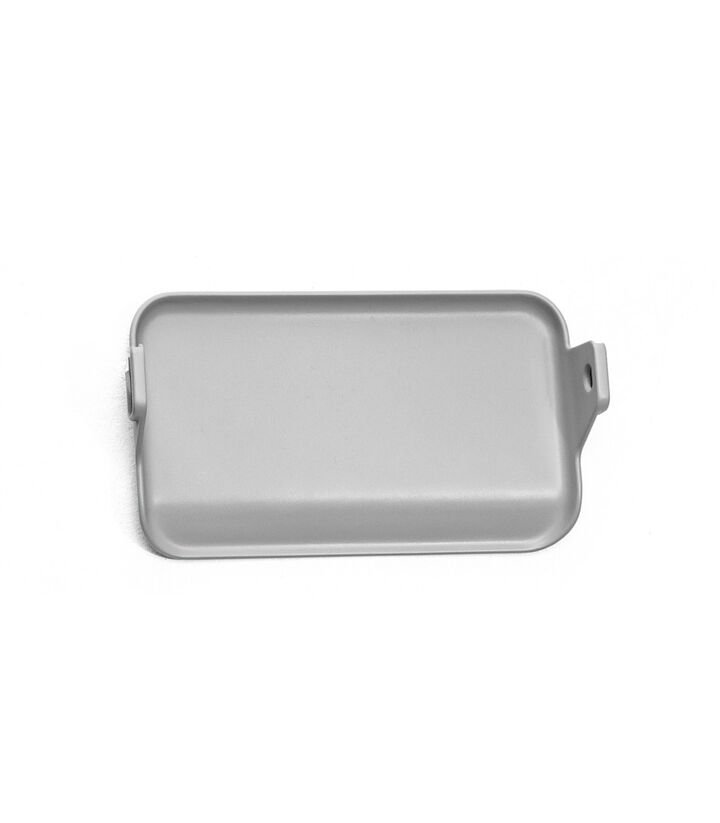 Stokke® Clikk™ Foot Plate in Cloud Grey. Available as Spare part. view 1
