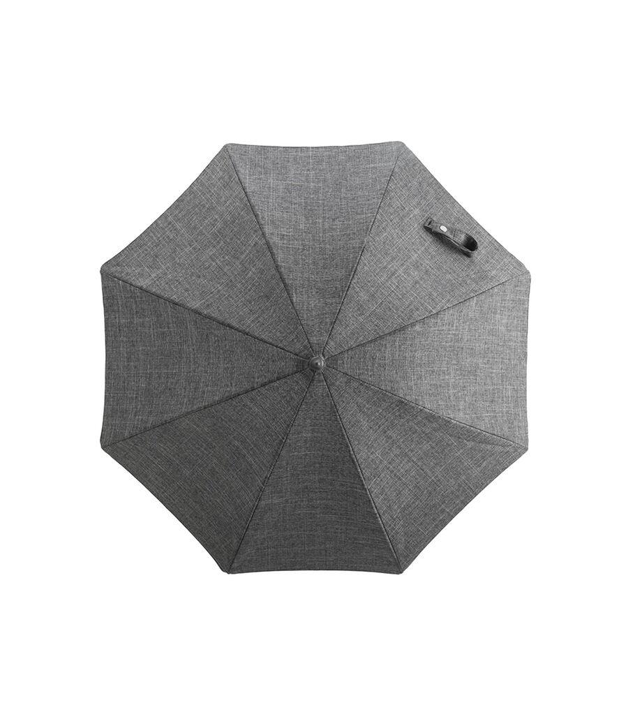 Stokke® Xplory® Black Parasol, Black Melange, mainview view 50