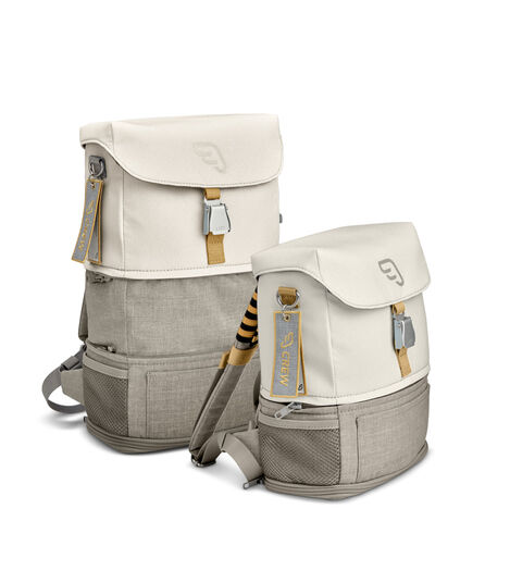 JetKids by Stokke® Crew Backpack White, White, mainview view 6