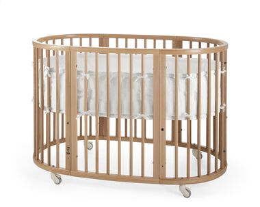 Stokke® Sleepi™ Natural. Bumper white.