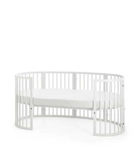 Stokke® Sleepi™ Junior Forlængersæt White, White, mainview view 3