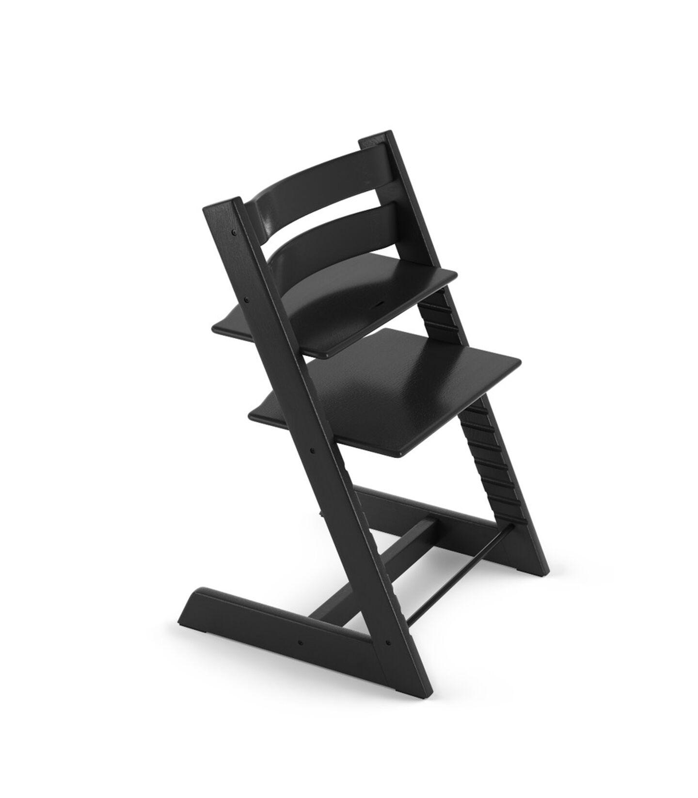 Tripp Trapp® Chair Oak Black. view 2