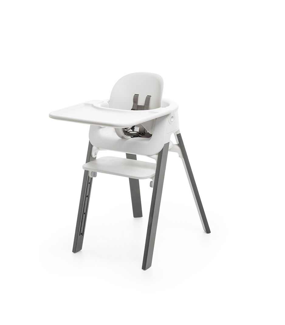 Mounted On Stokke Steps Highchair.
