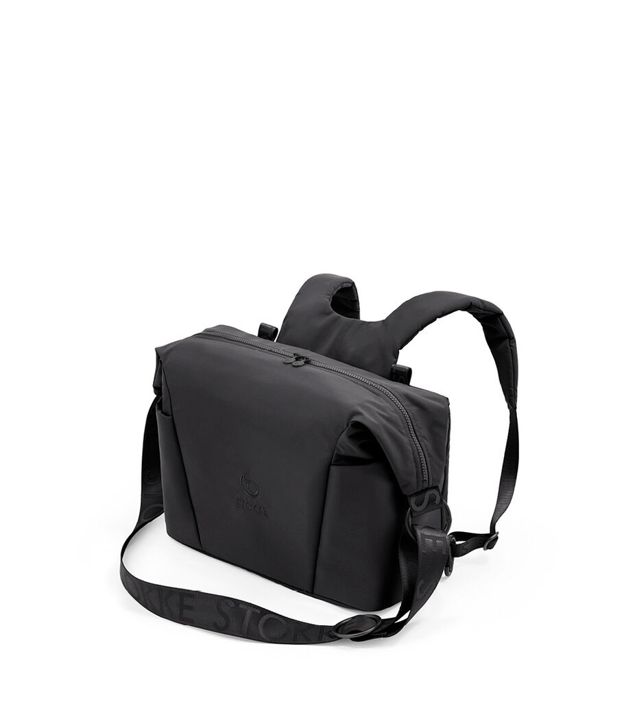 Stokke® Xplory® X Wickeltasche, Rich Black, mainview view 5
