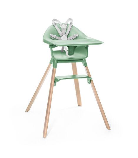 Trona Stokke® Clikk™ Clover Green, Verde Trébol, mainview view 3