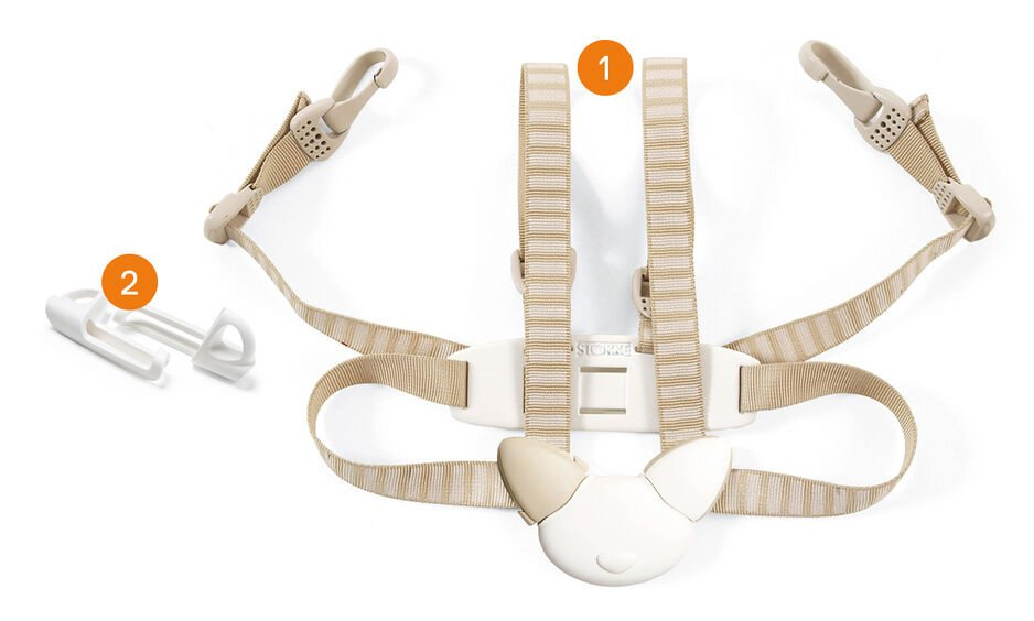 Tripp Trapp® Harness 5-point. Items included. view 1