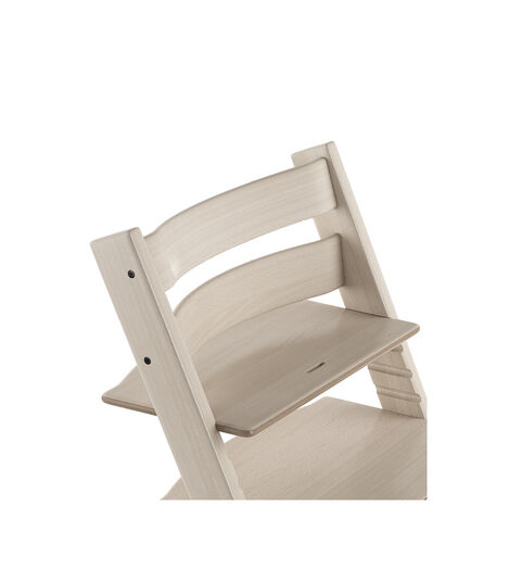 Tripp Trapp® Chair close up 3D rendering Whitewash
