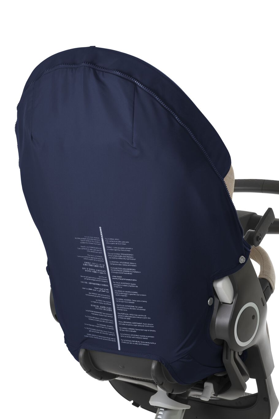 Stokke® Xplory® Back Unterlage Deep Blue, Deep Blue, mainview