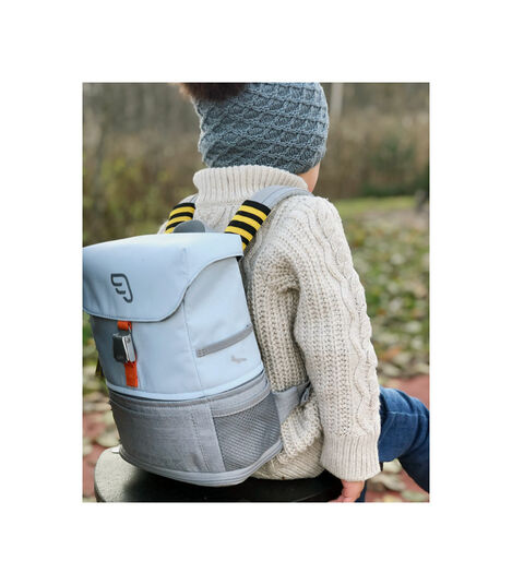 JetKids by Stokke® Crew Backpack Blanc, Blanc, mainview view 2