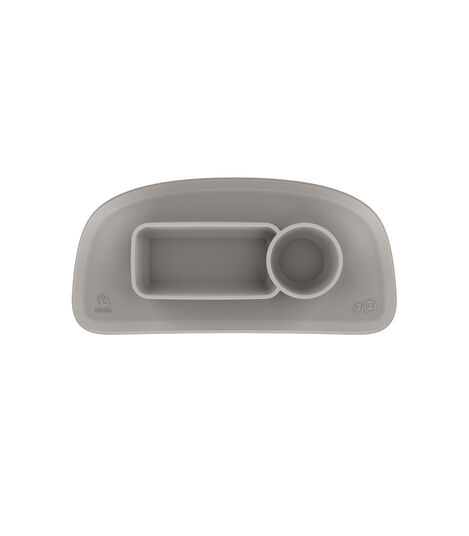 ezpz™ by Stokke™ placemat for Stokke® Tray Soft Grey, Grigio Soft, mainview view 2
