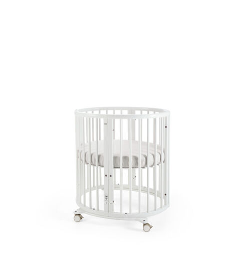 Stokke® Sleepi™ Mini Bundle w Matt White, White, mainview view 3
