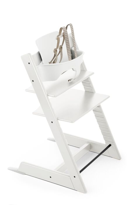 Tripp Trapp® Baby Set White  (USA version).
