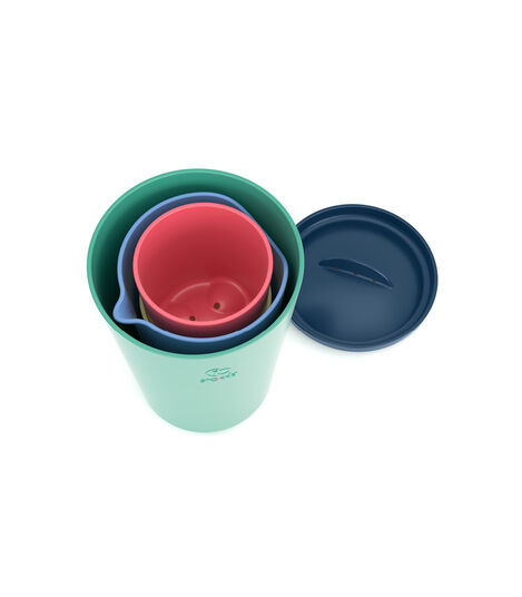Stokke® Flexibath® Toy Cups Multi Colour, Multicolor, mainview view 4