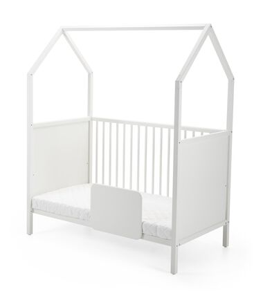 stokke home bed a crib changing station playhouse in one. Black Bedroom Furniture Sets. Home Design Ideas
