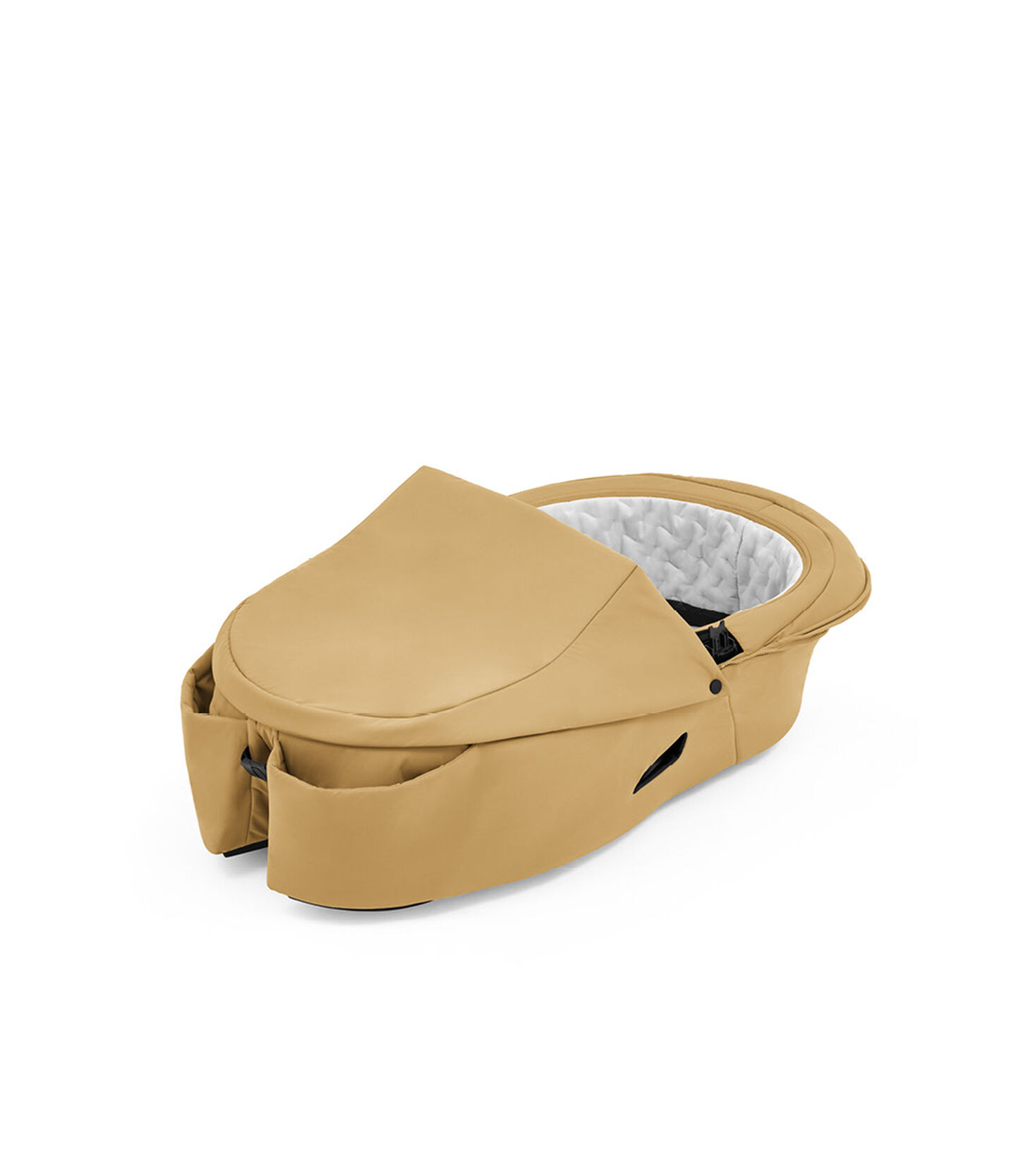 Stokke® Xplory® X Golden Yellow Carry Cot, no canopy. view 1