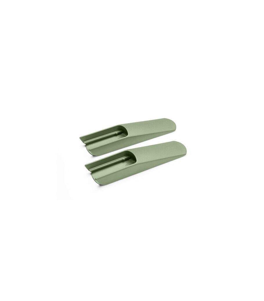 Tripp Trapp® Deslizadores extendidos, Verde Musgo, mainview view 62