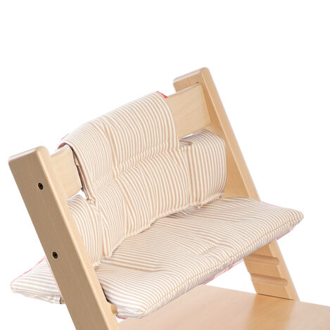 Accessories. Cushion, Beige Stripe.