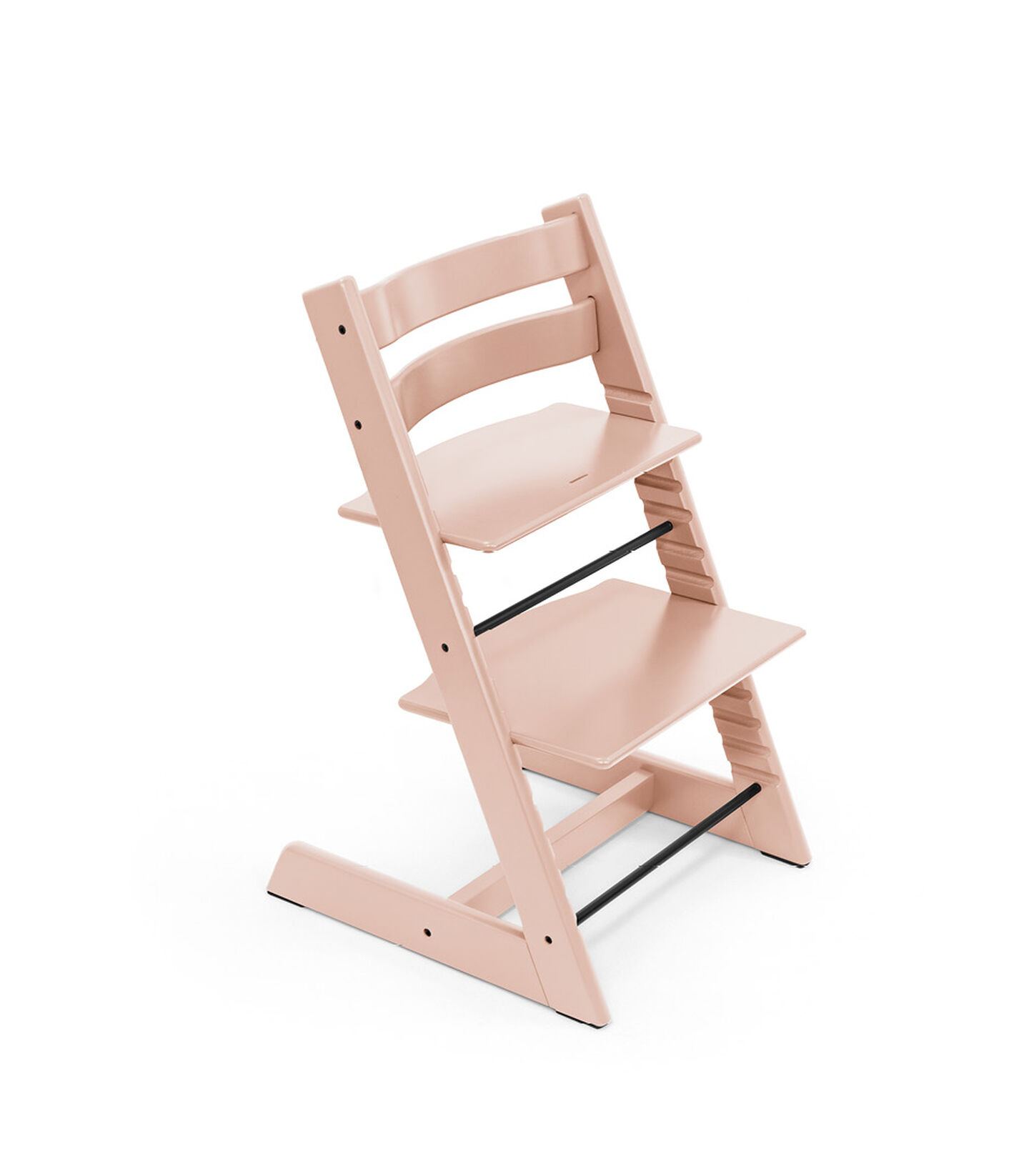 Tripp Trapp® chair Serene Pink, Beech Wood. view 1