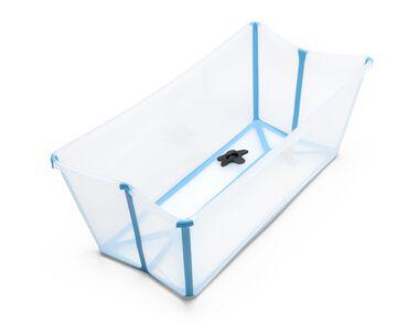 stokke flexi bath a flexible portable baby bath tub. Black Bedroom Furniture Sets. Home Design Ideas
