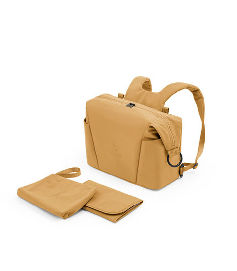 Stokke® Xplory® X Changing Bag Golden Yellow. What's Included. Accessories.  view 3