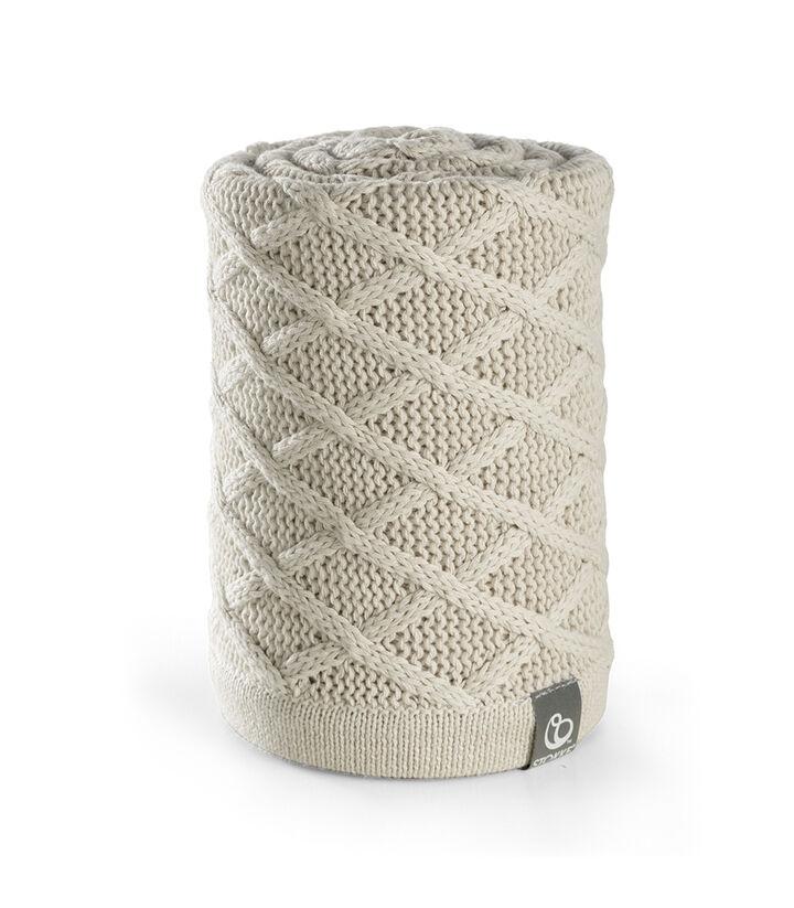 Stokke® Stroller Blanket, Cable Cream.