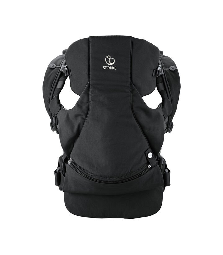 Stokke® MyCarrier™ Front Carrier, Black. view 1