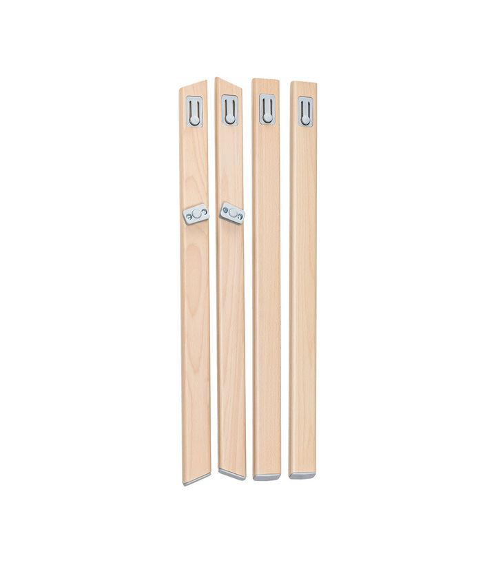Stokke® Clikk™ High Chair. Natural Beech wood legs. Spare part.