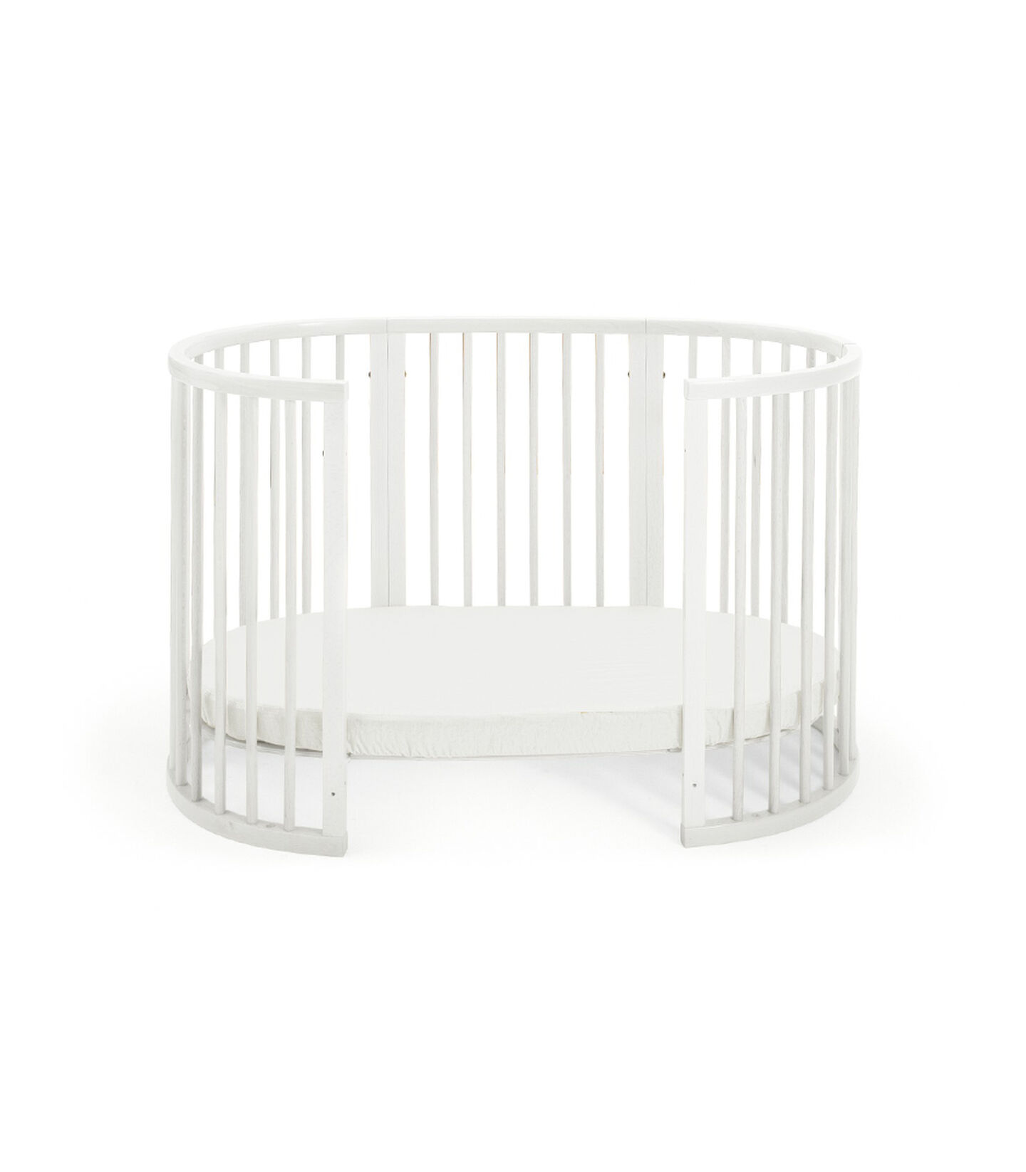 Toddler Bed, White