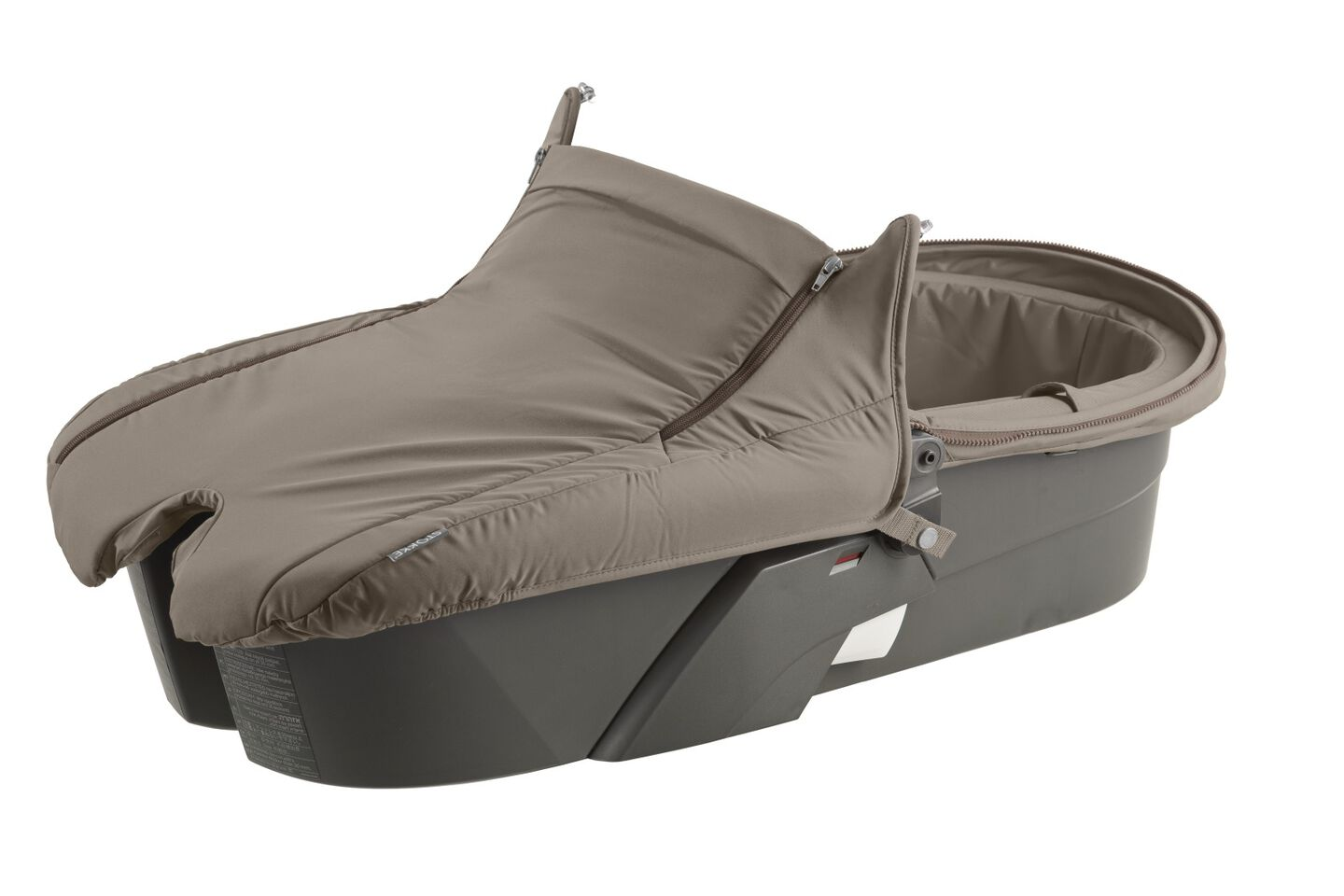 Carry Cot without Hood, Brown.