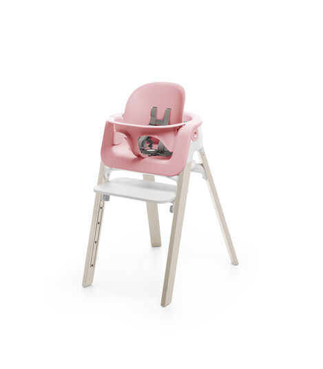 Accessories. Baby Set. Mounted on Stokke Steps highchair. view 2