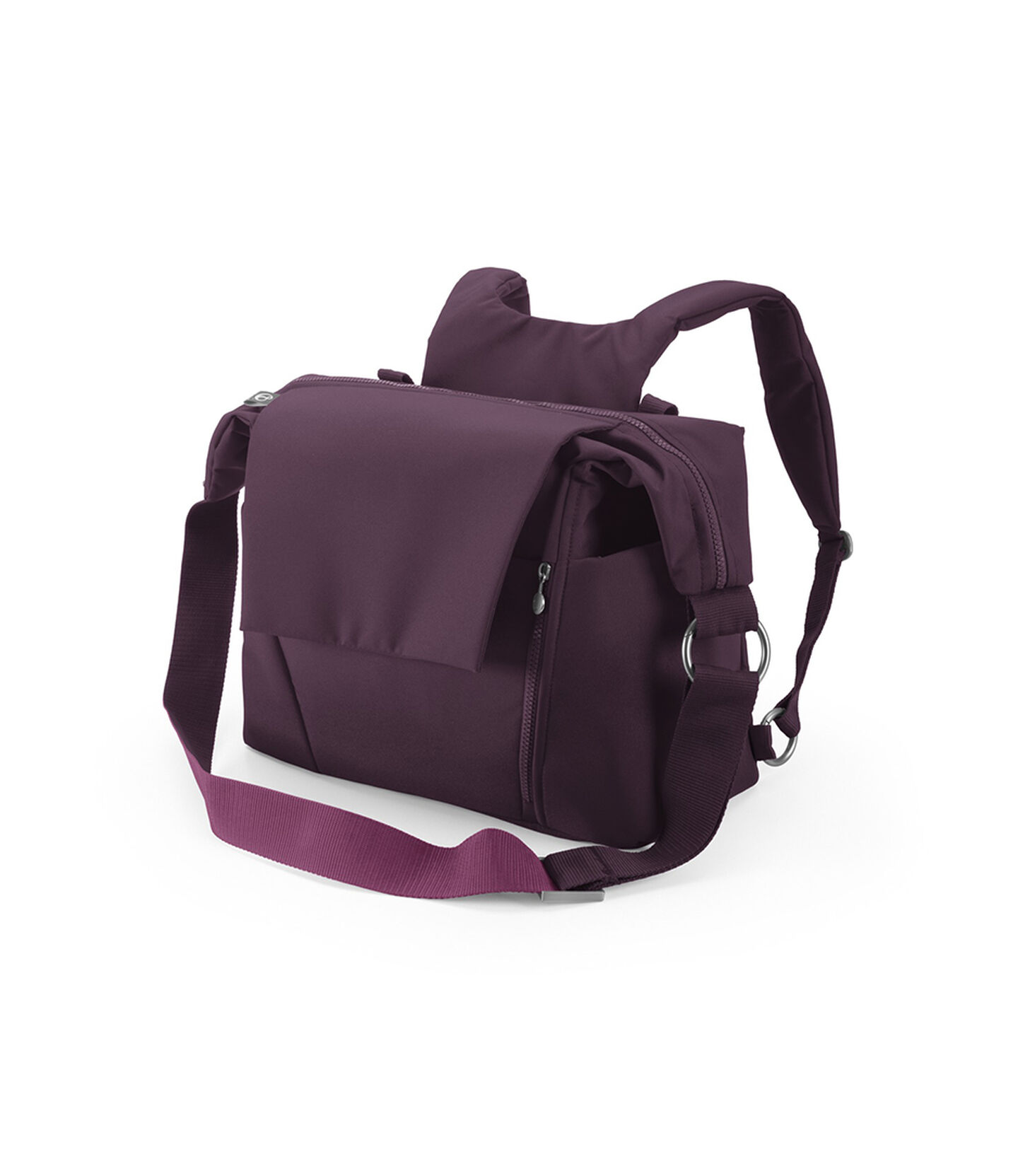 Stokke® Stroller Changing Bag, Purple.