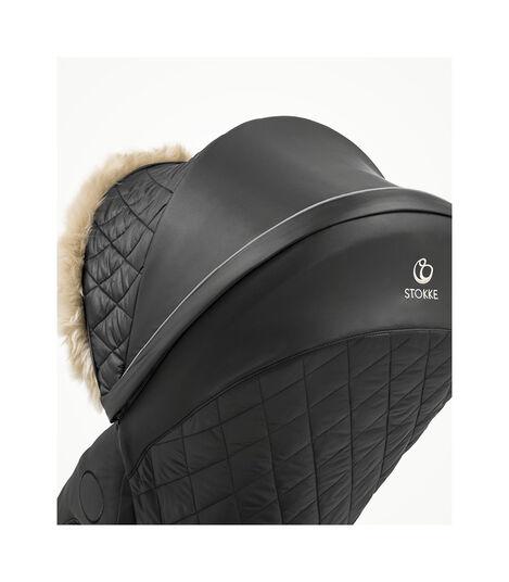 Stokke® Xplory® X Winter Kit Schwarz, Black, mainview view 4