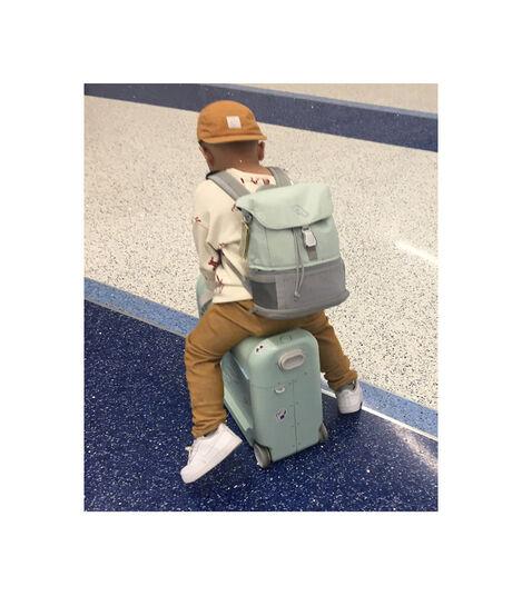 Zestaw podróżny BedBox™ + plecak Crew BackPack™ Zielony/Zielony, Green / Green, mainview view 2