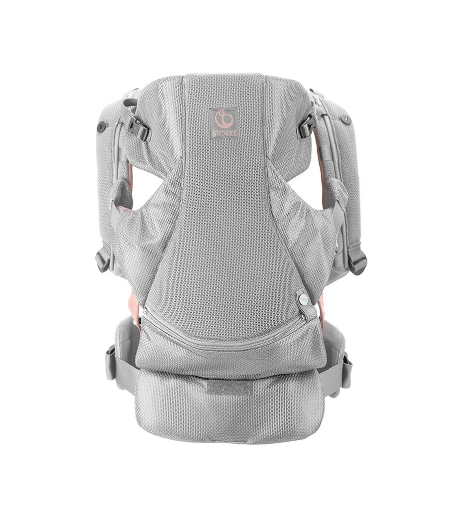 Stokke® MyCarrier™ Front Carrier, Pink Mesh. view 9
