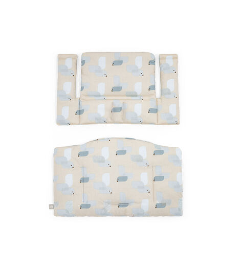 Tripp Trapp® Classic Cushion Birds Blue OCS, Birds Blue, mainview view 3