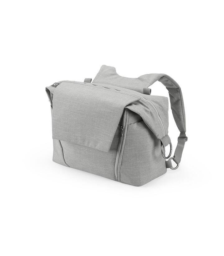 Stokke®, сумка для мамы, цвет Серый меланж (Grey Melange), Серый Меланж, mainview view 1